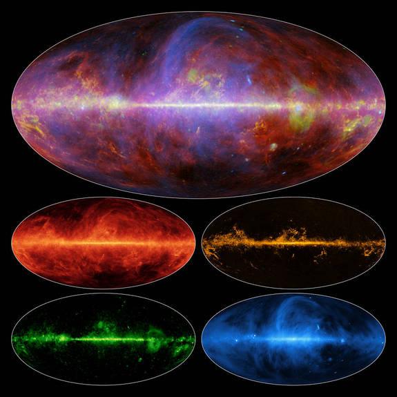 Новые карты Млечного Пути показывают галактику в новом свете CVAVR AVR CodeVision cvavr.ru