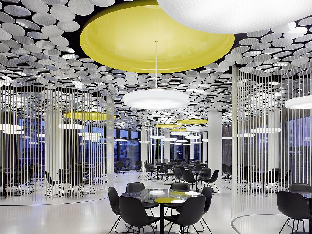 Дизайн ресторана от Вернера Пантона