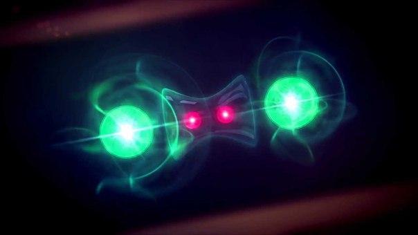 квантовая гравитация кварков запутанность