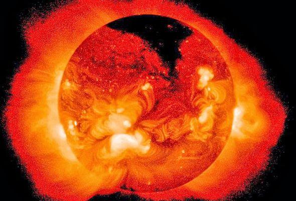 На Солнце обнаружена огромная корональная дыра | Земля - Хроники жизни