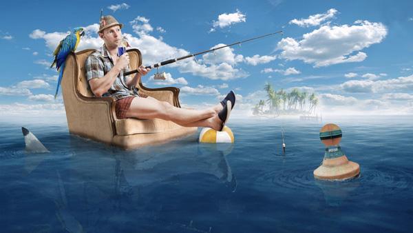 на рыбалку в отпуск или на море