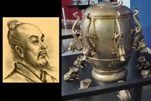 Сейсмоскоп из Древнего Китая
