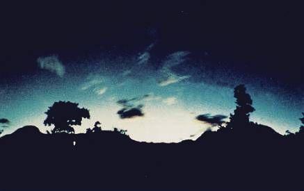 Необычные световые явления перед мощными землетрясениями