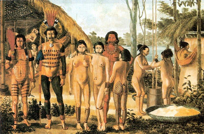 Порно племени индейц