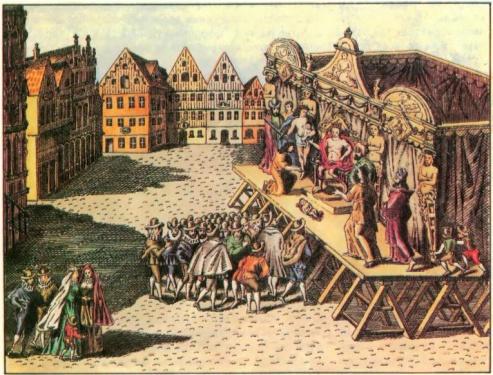 В эпоху Шекспира театры похищали детей