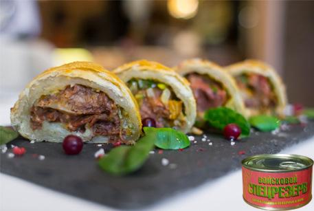 Быстрые рецепты – блюда от шеф-поваров с тушенкой Войсковой Спецрезерв на любой вкус