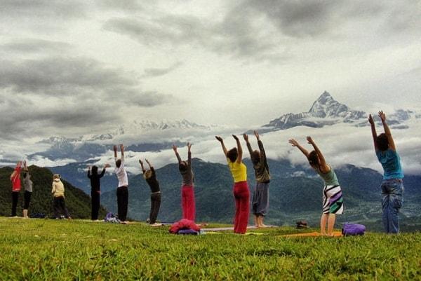 йога путешествие