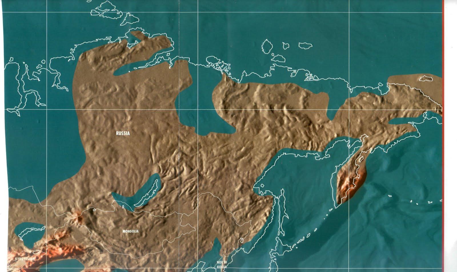 Карты мира после глобального потопа