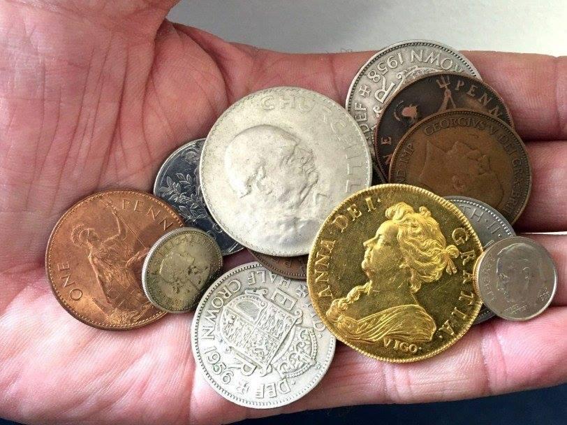 В Англии нашлась очень редкая золотая монета