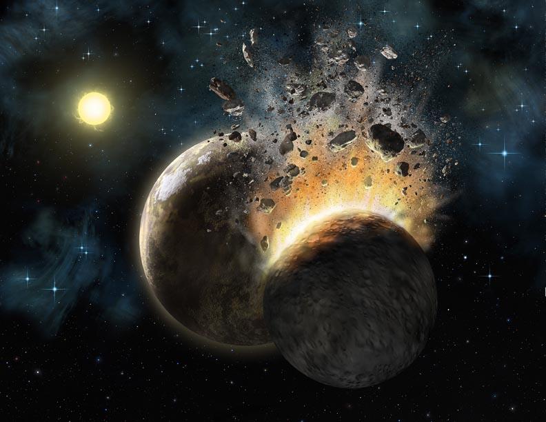 Являются ли астероиды обломками разрушенной планеты ksp астероиды