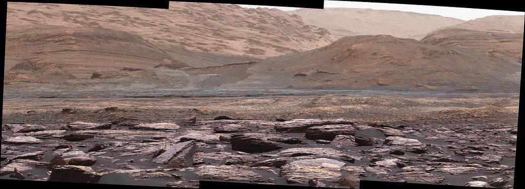 НАСА показало Марс в естественных цветах