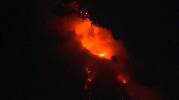 Извержение вулкана Майон