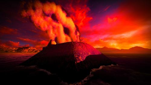 Извержения вулканов могут спровоцировать вулканическую зиму