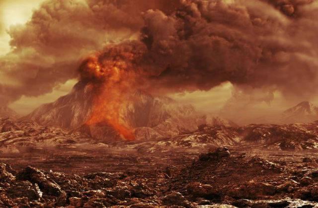 Ученые нашли следы древней вулканической катастрофы