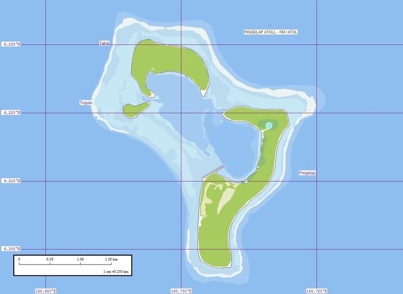 Пингелап - остров дальтоников
