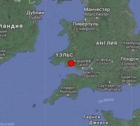 Землетрясение магнитудой 4.7 произошло в Великобритании
