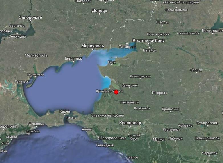 Землетрясение магнитудой 4.8 произошло в Болгарии