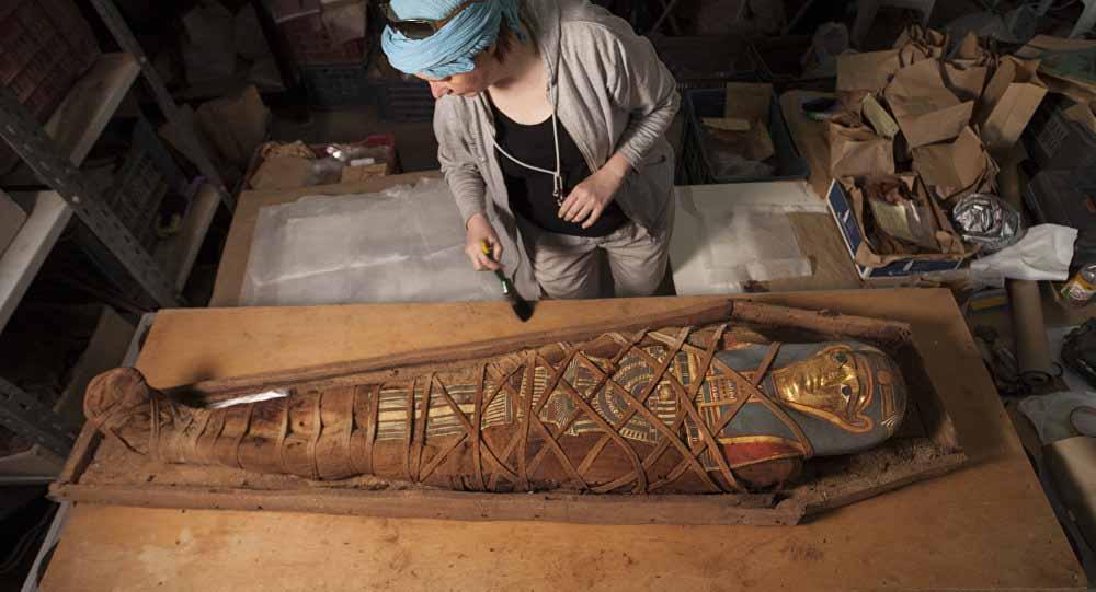 В Египте нашли некрополь с сокровищами древних жрецов