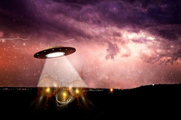 В небе над Мурманском появился НЛО