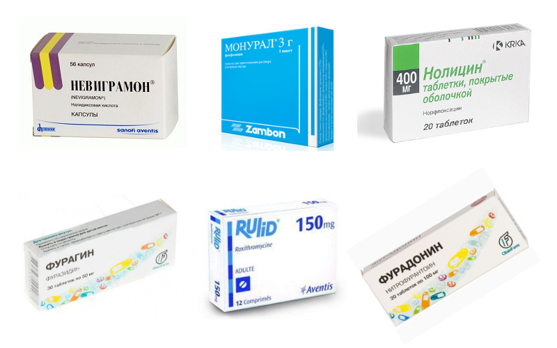 Таблетки для лечения цистита у мужчин