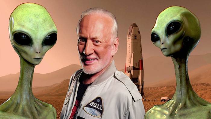 Базз  Олдрин видел НЛО на Луне или не видел? 551