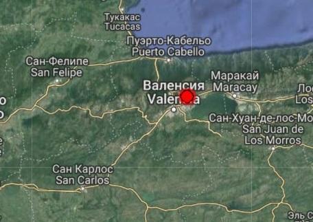 Землетрясение магнитудой 4.7 произошло в Венесуэле