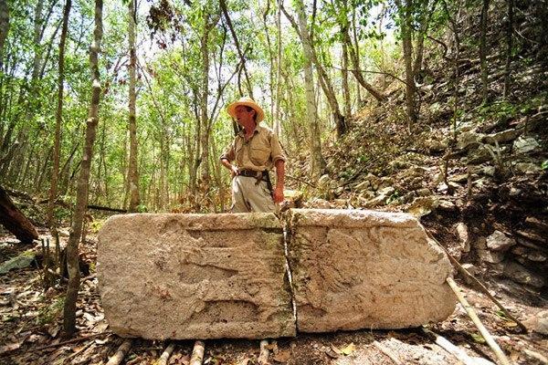 Затерянный город цивилизации Майя
