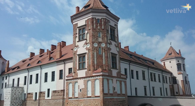 Экскурсии по Белоруссии с посещением Мирского и Несвижского замков
