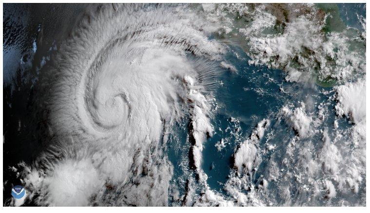 В Тихом океане сформировался ураган «Алетта»
