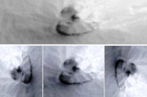 На Марсе нашли космический корабль инопланетян Ufo-surface-of-mars-1
