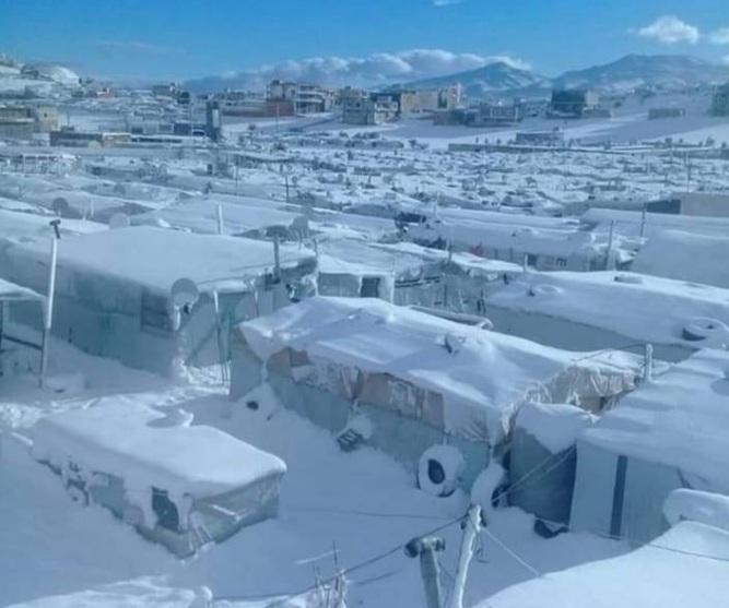 На Ливан обрушились дожди, снегопады и морозы
