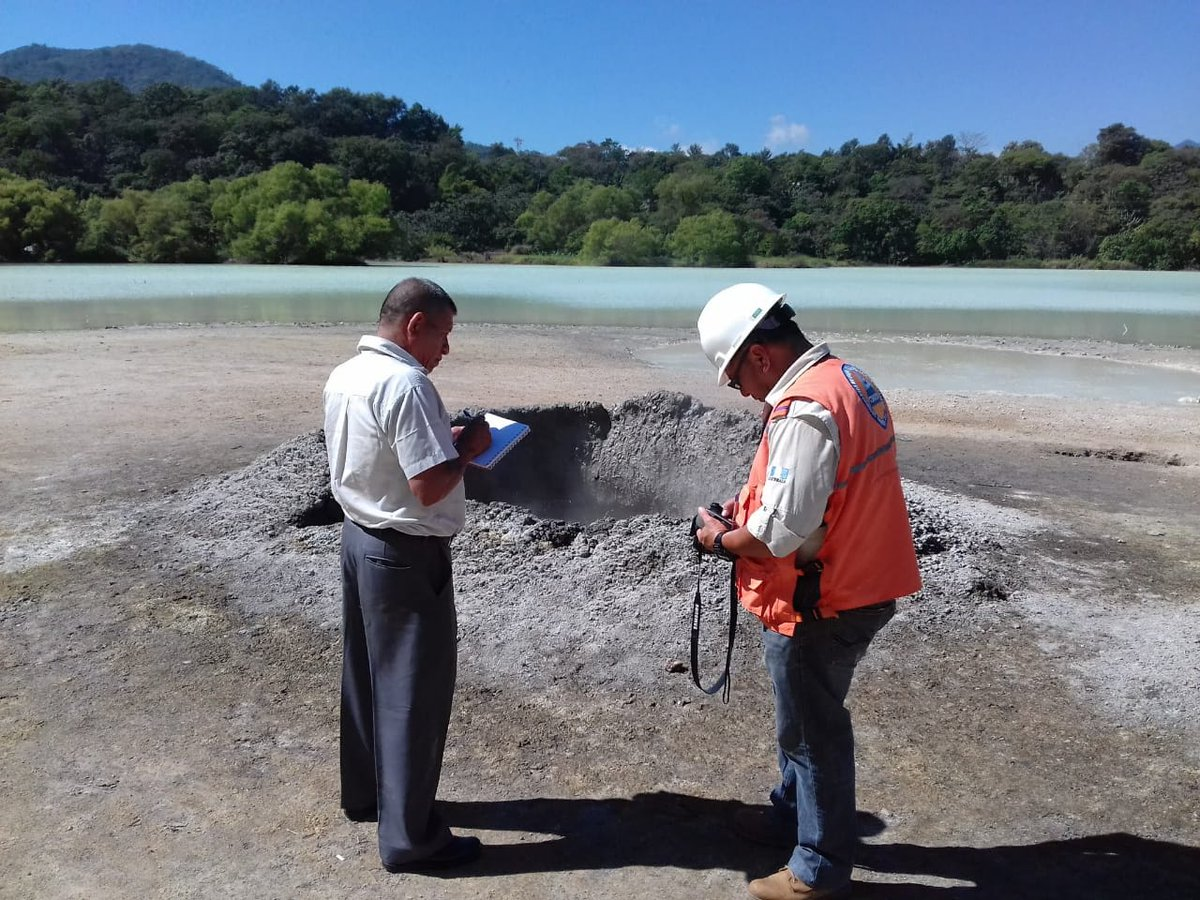 В Гватемале пробуждается спящий вулкан