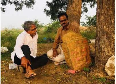 В Индии обнаружили загадочное древнее сооружение