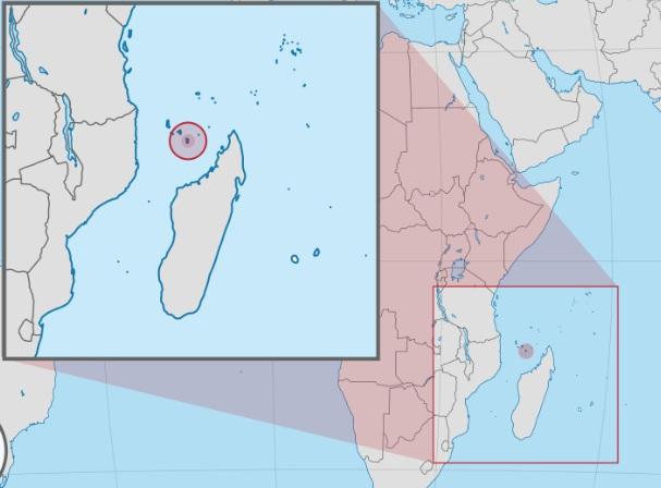 Зафиксирована вулканическая активность у берегов острова Майотта