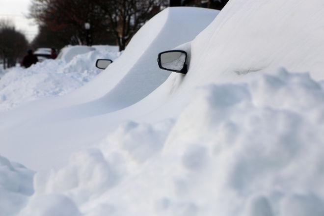 На Канаду обрушился зимний шторм