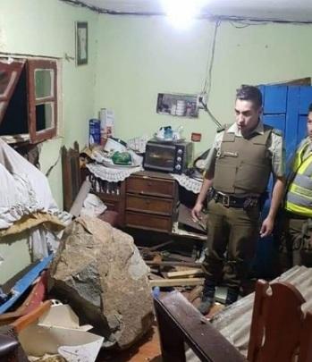 Последствия сильного землетрясения в Чили