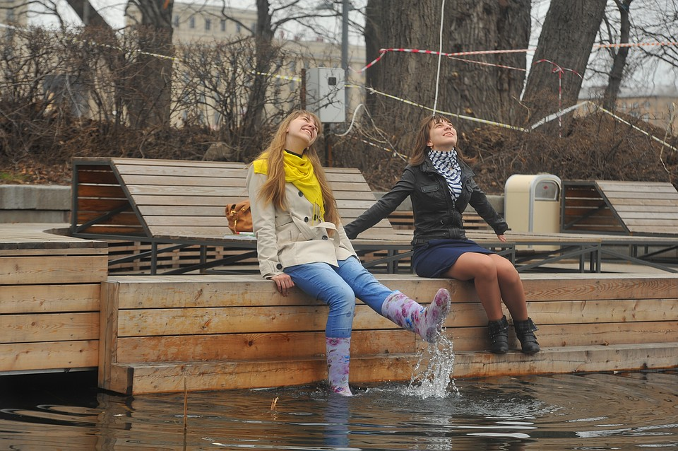 На Краснодарский край идет аномальное тепло