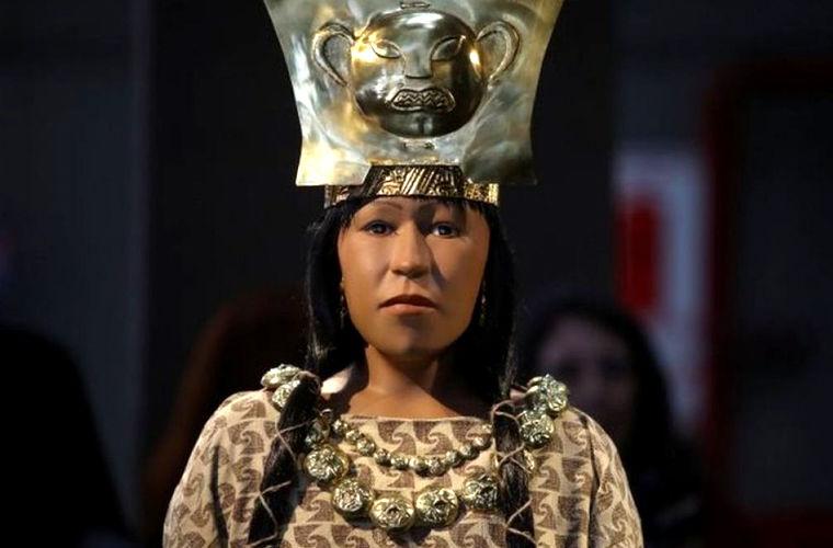Ученые восстановили облик жившей 1700 лет назад правительницы из Перу