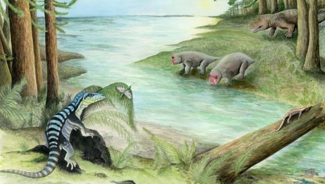 В Антарктиде обнаружили останки древнего динозавра