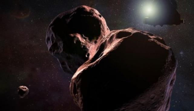 Почему астероид Ультима Туле имеет сплющенную форму?