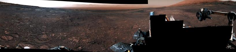 360-градусная панорама Марса