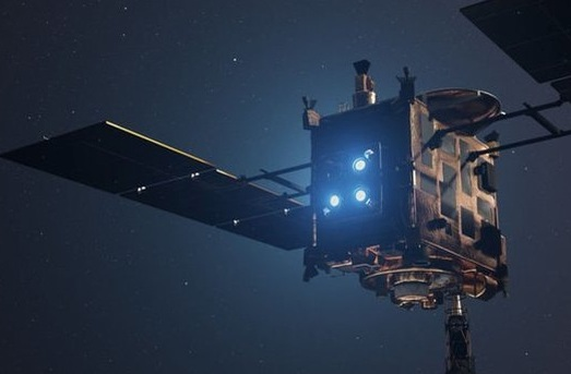 Японцы обстреляют астероид Рюгу