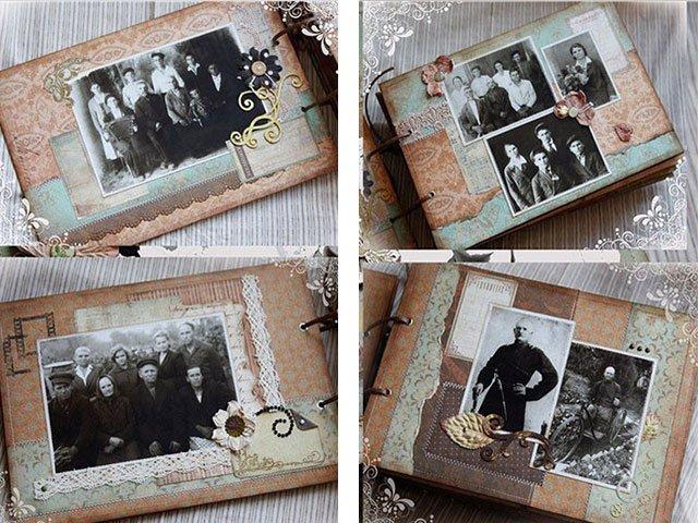 старый фотоальбом