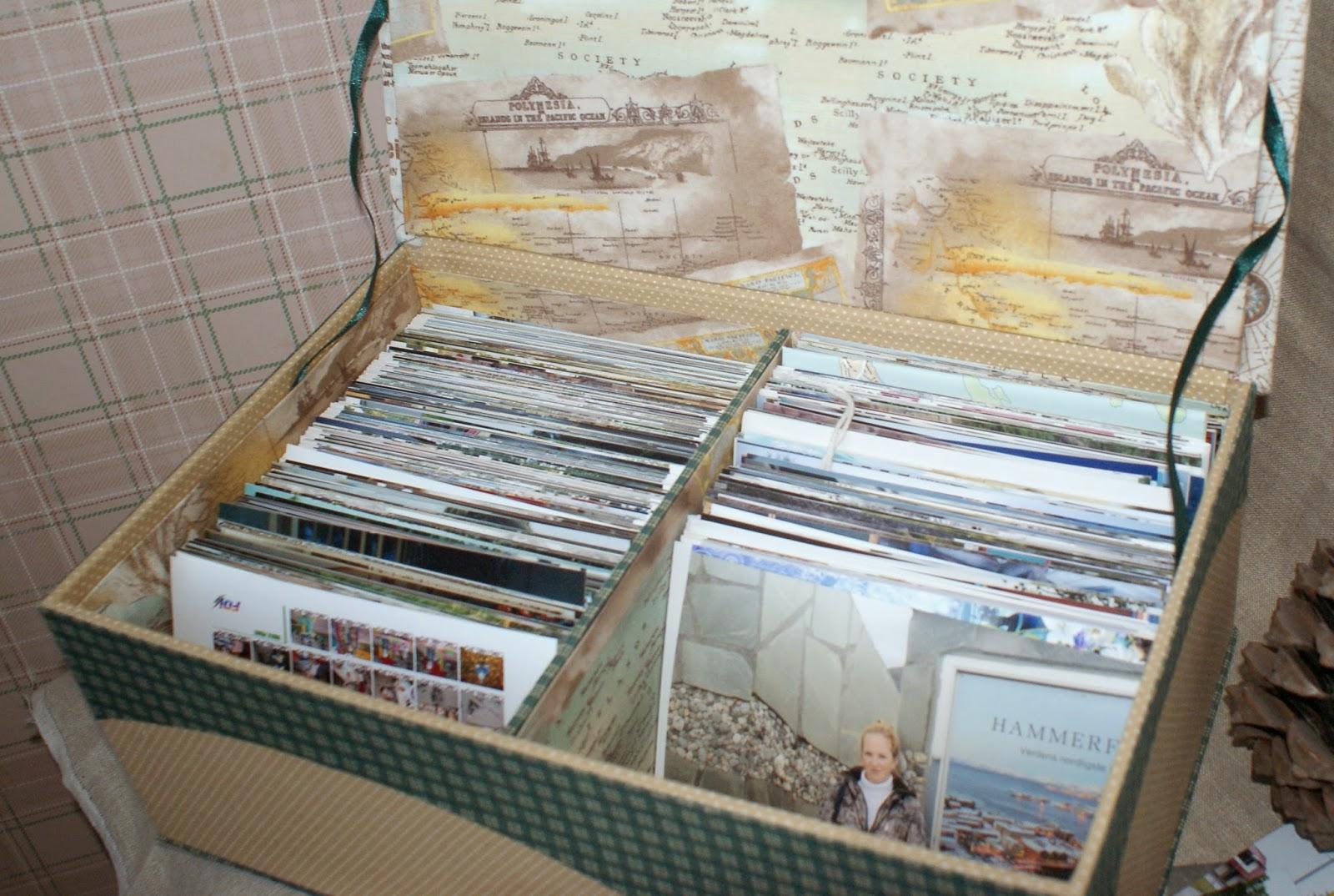 коробки для хранения фото, изготовление, дизайн