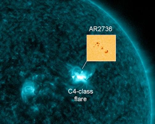 Новый рост солнечной активности. Солнце сжигает остатки топлива прошедшего солнечного цикла Rrr1eggshnshg8