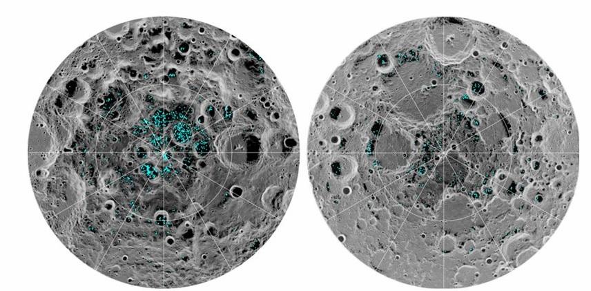 Ученые подтвердили существование водяного льда на Луне