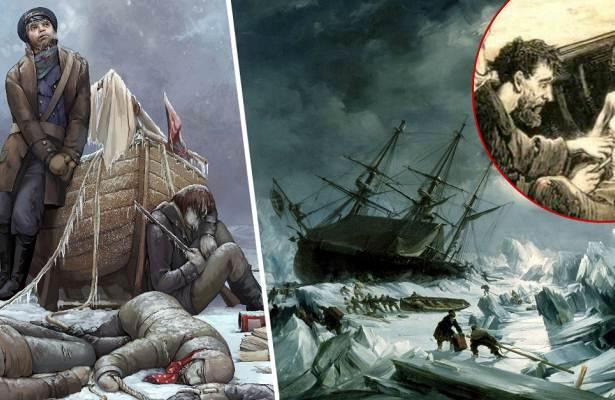 Тайна исчезновения Арктической экспедиции Джона Франклина