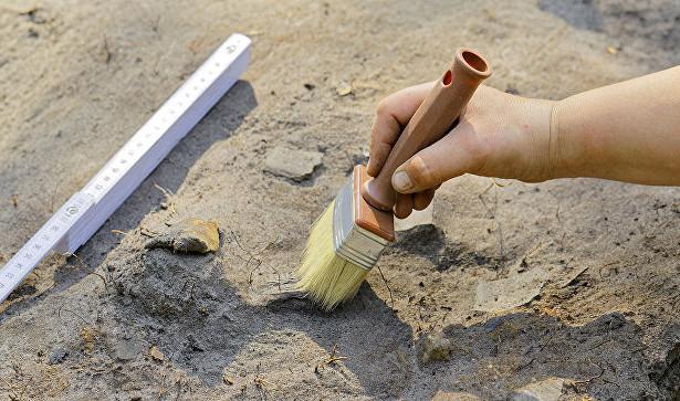 В Танаисе нашли странное погребение