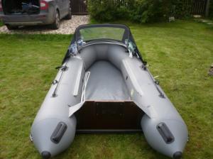 Модернизированная лодка ПВХ