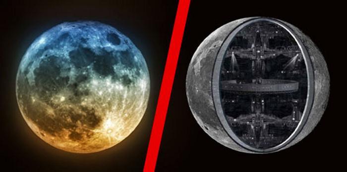 Луна обитаемый космический корабль? 530